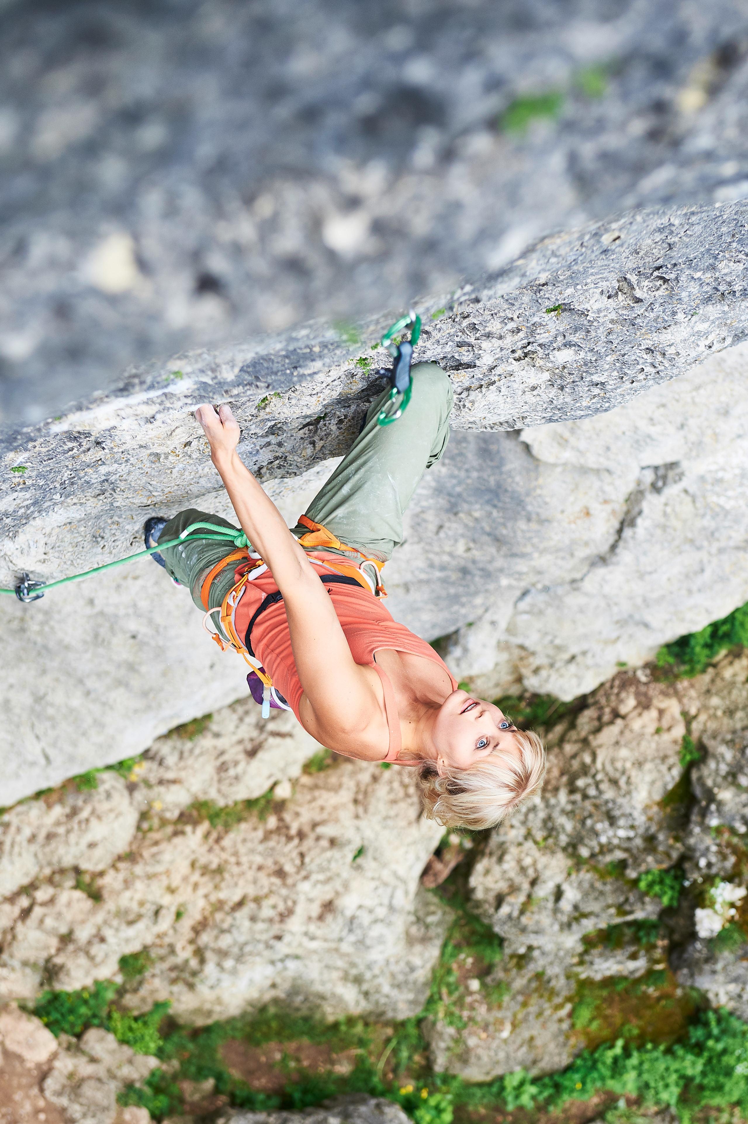 Anna Laitinen klettert Magnet (9)